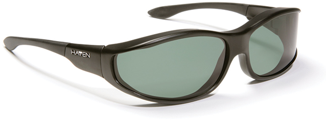 5a14c39f7e Haven Tolosa OTG Sunglasses with Black Frame and Gray Polarized Lens -  Safety Glasses USA