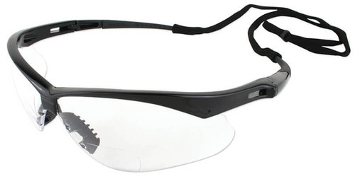 Jackson Nemesis Rx Bifocal Safety Glasses With Clear Lens