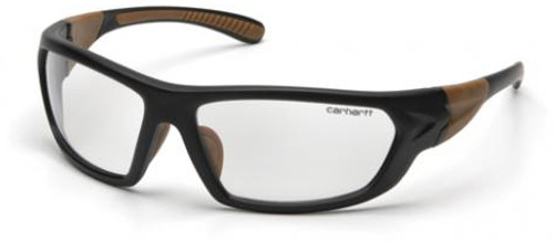 01fa31e490 Carhartt Carbondale Safety Glasses with Black Frame and Clear Lens