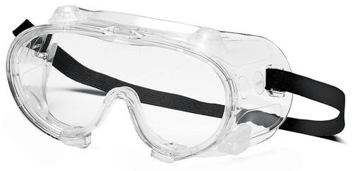 Pyramex G204 Indirect Vent Goggle with Clear Lens G204