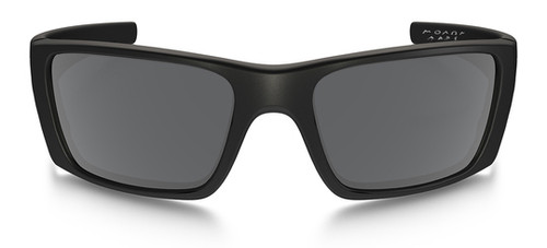 ... Oakley SI Fuel Cell with Matte Black Frame, Steel Flag Logo and Black  Iridium Lenses