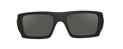 ... Oakley SI Ballistic Det Cord with Matte Black Frame and Grey Lenses ...