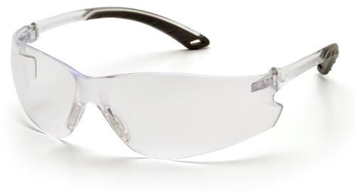 Pyramex Itek Safety Glasses with Clear Anti-Fog Lens