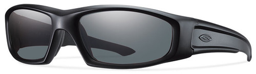 Smith Elite Hudson Tactical Ballistic Sunglasses with Black Frame and Gray Lens