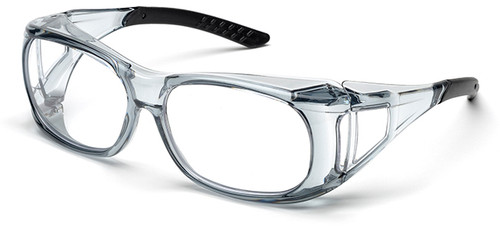 Elvex OVR-Spec II Safety Glasses with Translucent Frame and Clear Lens