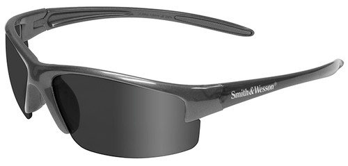 Smith & Wesson Equalizer Safety Glasses with Gun Metal Frame and Anti-Fog Smoke Lens