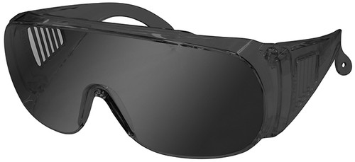 Radians Chief Overspec Safety Glasses with Smoke Lens