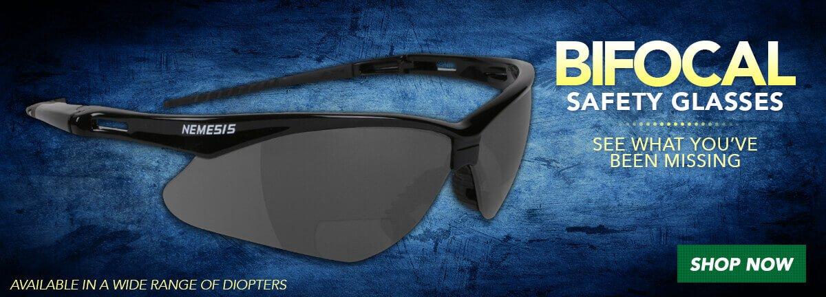 Bifocal Safety Glasses
