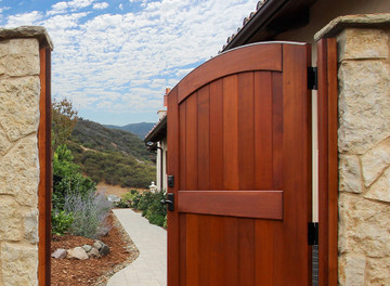 Easy-Install Wood Fence Gate, Signature, Pre-Hung
