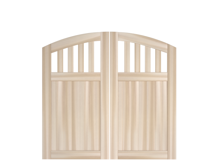 Rose City Double Swing Gates