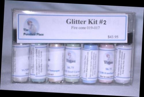 China Paint Glitter Kit  #2