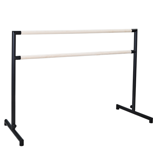 Arabesque-steel/wood Portable Barre Bracket