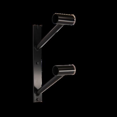 wall mounted ballet barre. Custom Barres Doubler En Lair - Double Wall Mounted Ballet Barre Bracket Black