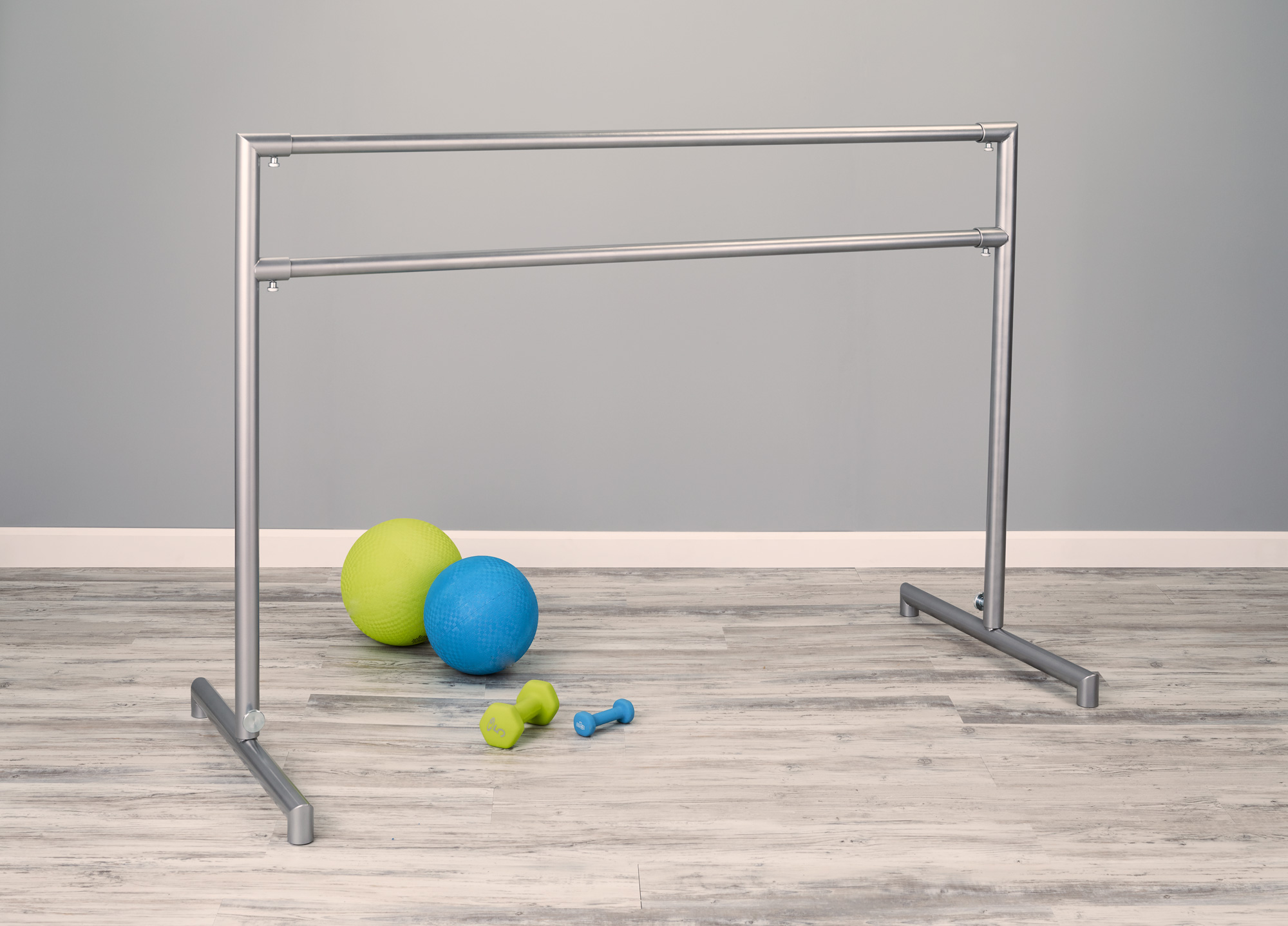 arabesque - best freestanding ballet barre - portable ballet barre by Custom Barres