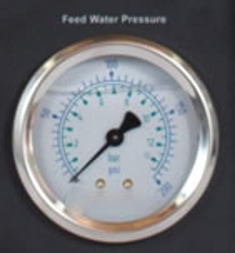"2.5"" Pressure Gauge 0-200 PSI 1/4"" NPT"
