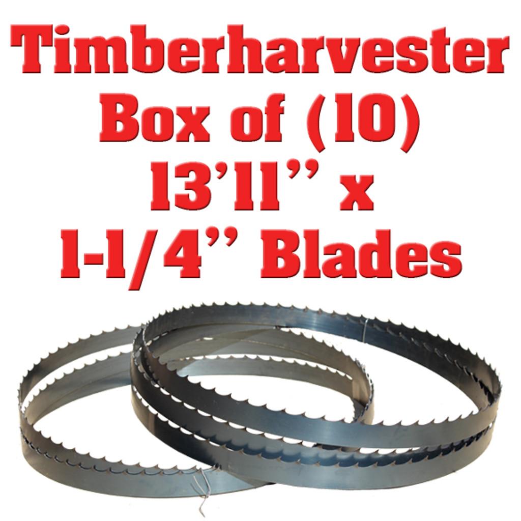 Timberharvester bandsaw blades