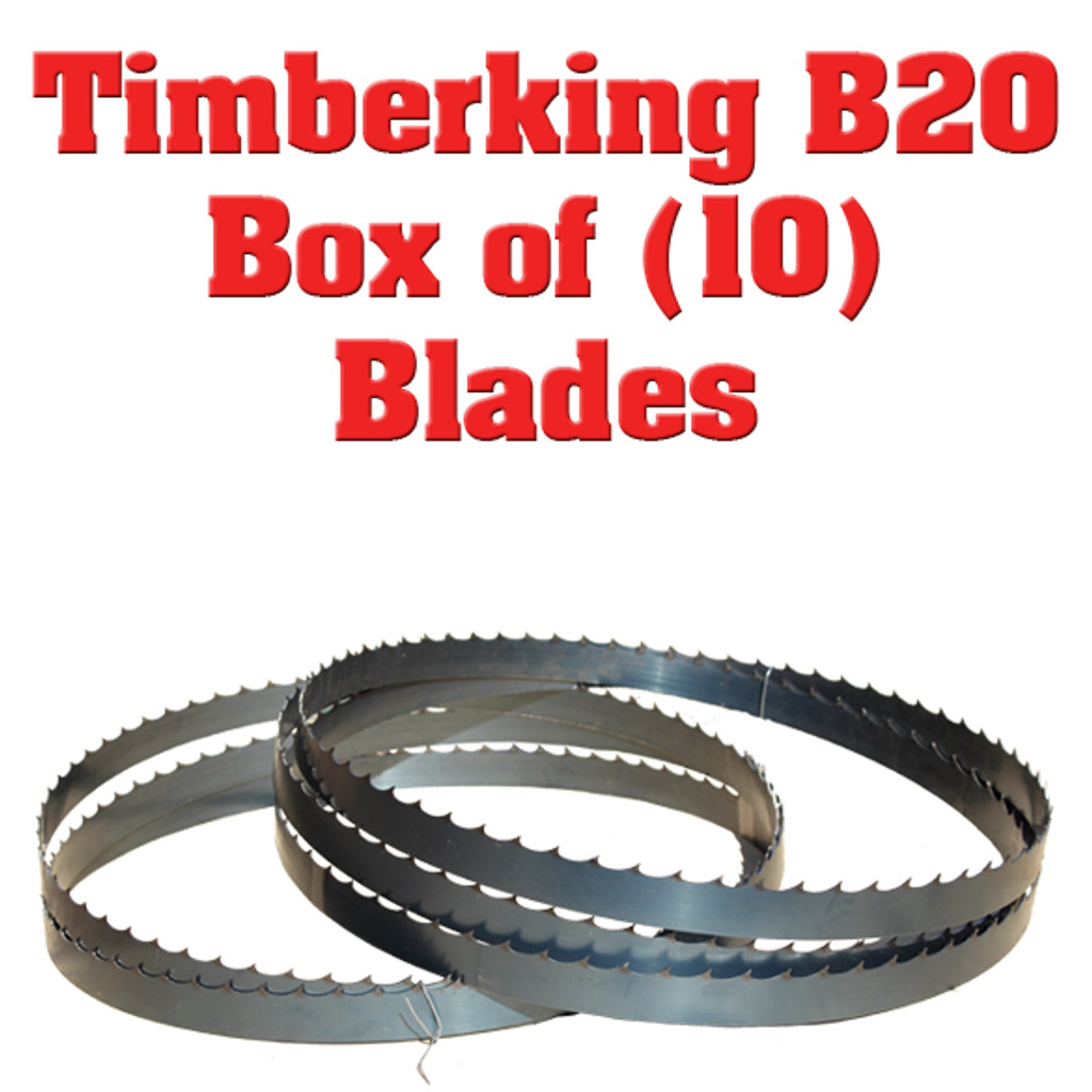 Bandsaw blades for Timberking B-20