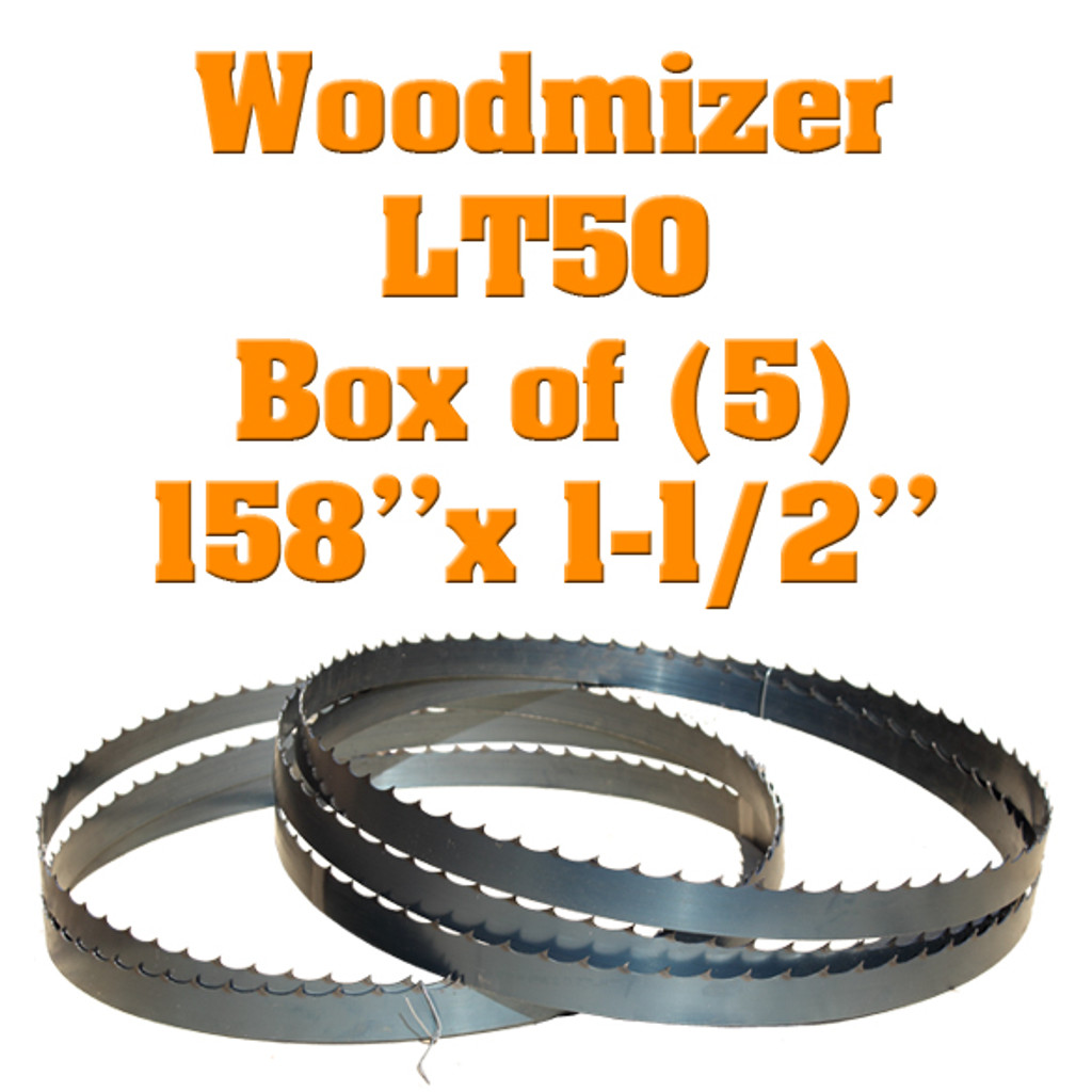 band saw blades for Woodmizer LT50