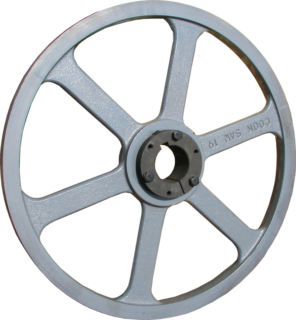 """19"""" band wheel for portable sawmill and resaw bandsaw blades"""