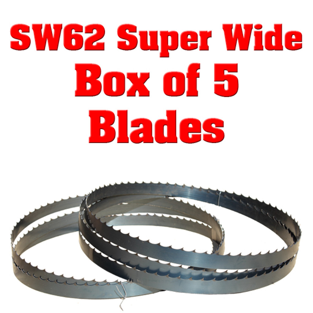 Blades for Cooks SW62 Super Wide Sawmill