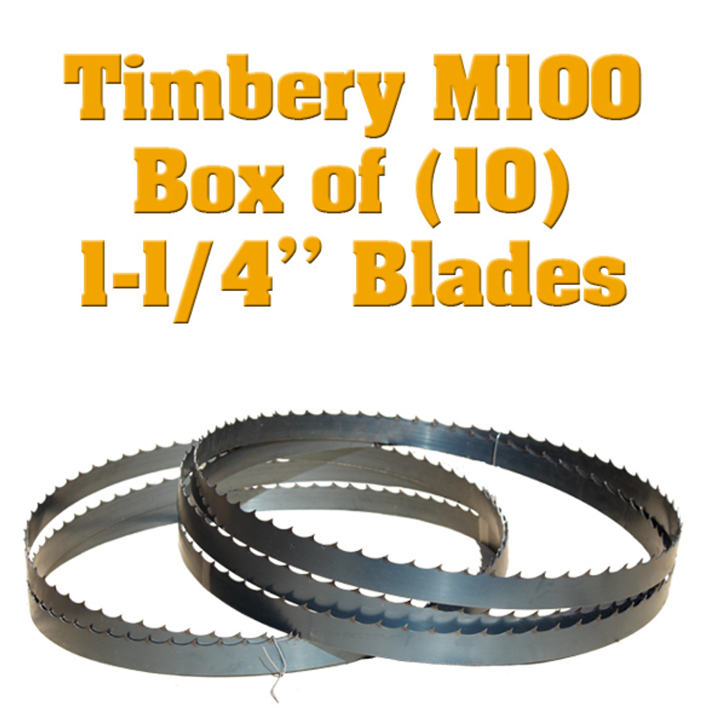 Bandsaw blades for Timbery M100