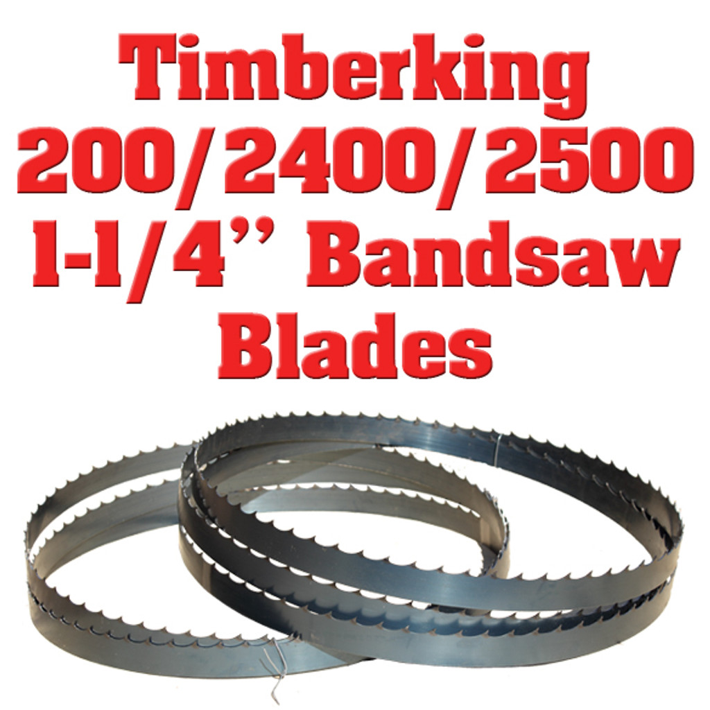 """1-1/4"""" bandsaw blades for the Timberking 200, 2400 and 2500 sawmill"""