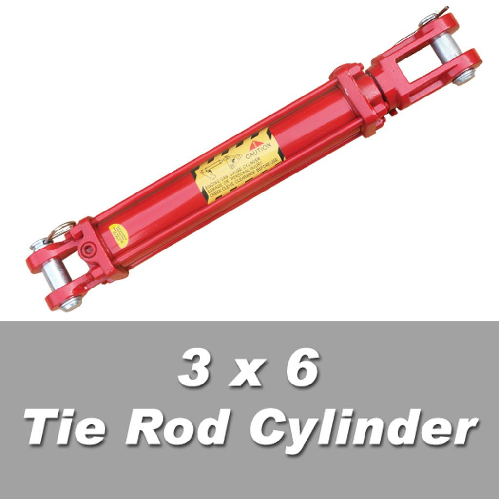 3 x 6 tie rod cylinder