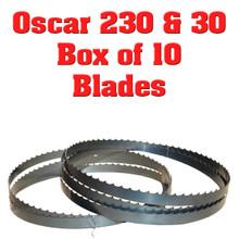 Bandsaw blades for Hudson Oscar 230 & 30