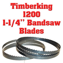 """1-1/4"""" Bandsaw blades for Timberking 1200"""