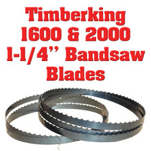 """1-1/4"""" blades for the Timberking 1600 and 2000 sawmills"""