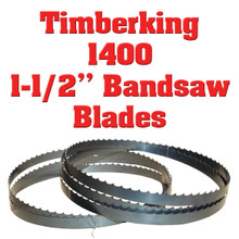 Bandsaw blades for Timberking 1400