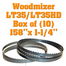 Band saw blades for Woodmizer LT35