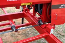 Roller guide retrofit on sawmill