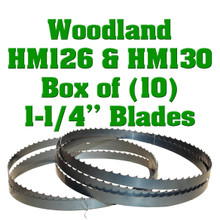 Bandsaw blades for Woodland sawmills