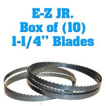 Bandsaw blades for the EZ JR sawmill