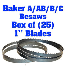 Bandsaw blades for Baker A resaws