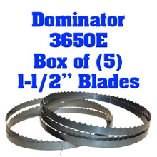 Bandsaw blades for the Baker 3650E Dominator