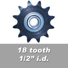 "40BB18-1/2"" Idler Sprocket"