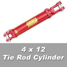 4 x 12 tie rod cylinder
