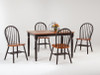 Windsor Dowel Chairs with Farm Table