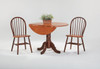 """Windsor Dowel Chairs with 42"""" Dropleaf Table"""