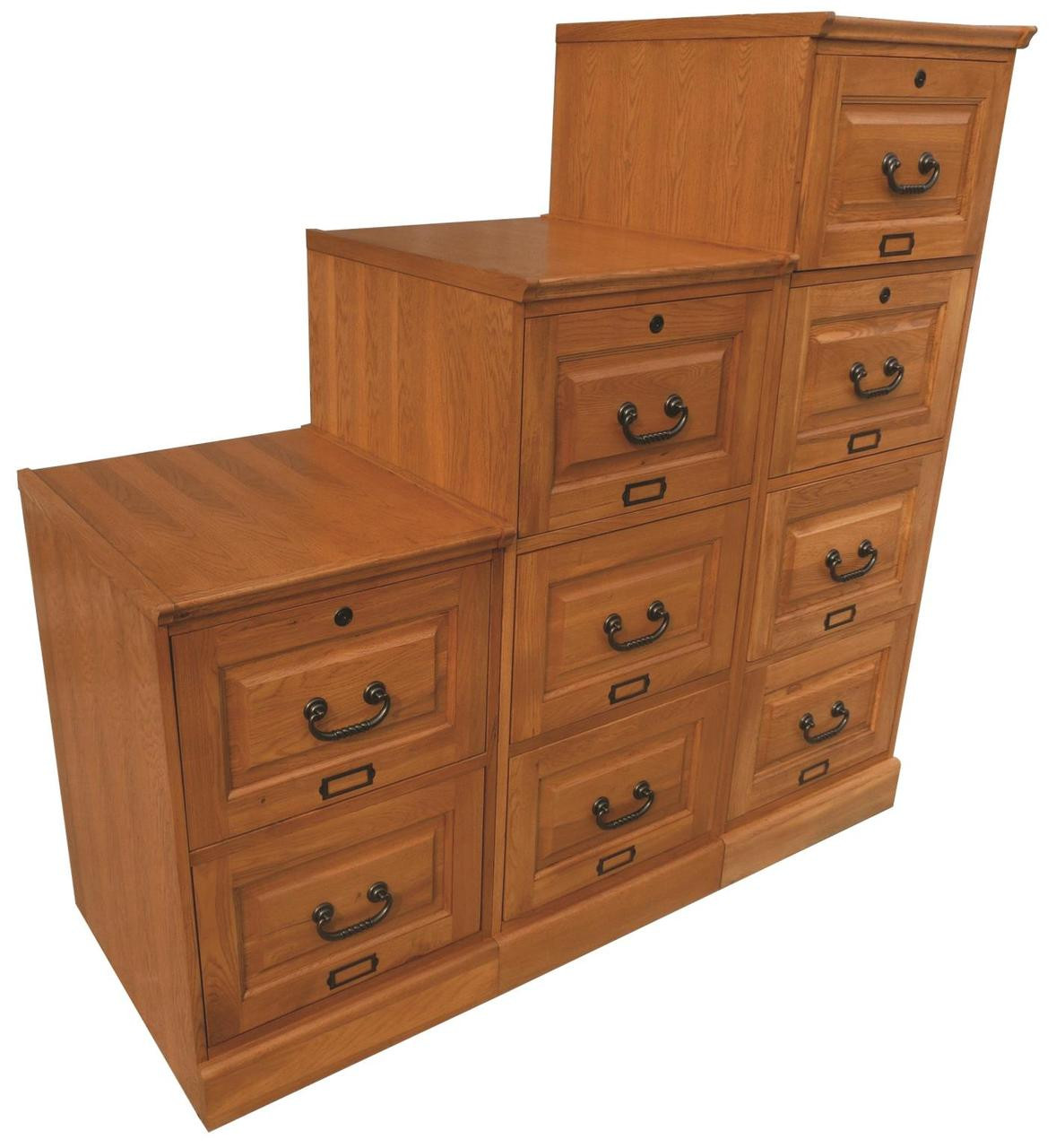 oak file cabinets birch three drawer file cabinet antique cherry 23846