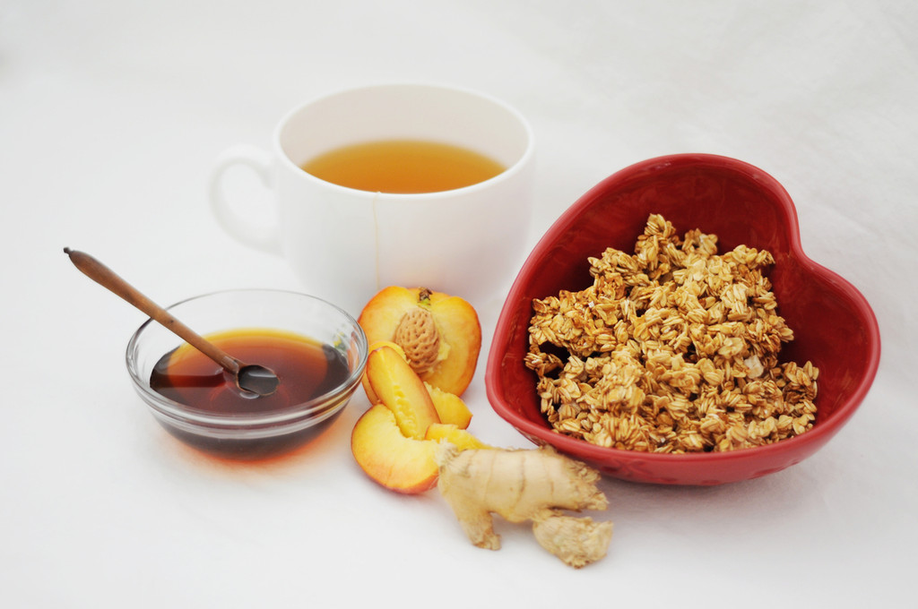 MICHAELENE'S Ginger-Peach Honey Crunch™ (nut free)