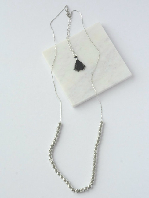 Silver Glow Necklace