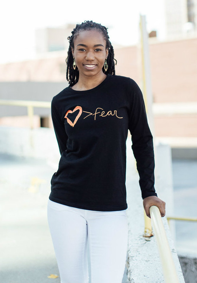 Love is Greater Than Fear Long Sleeve Tee