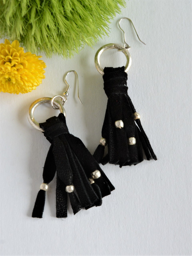Tassel Artillery Earrings