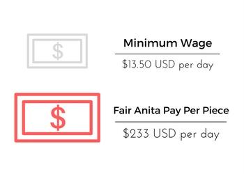Fair Trade Wages Chile | Fair Anita