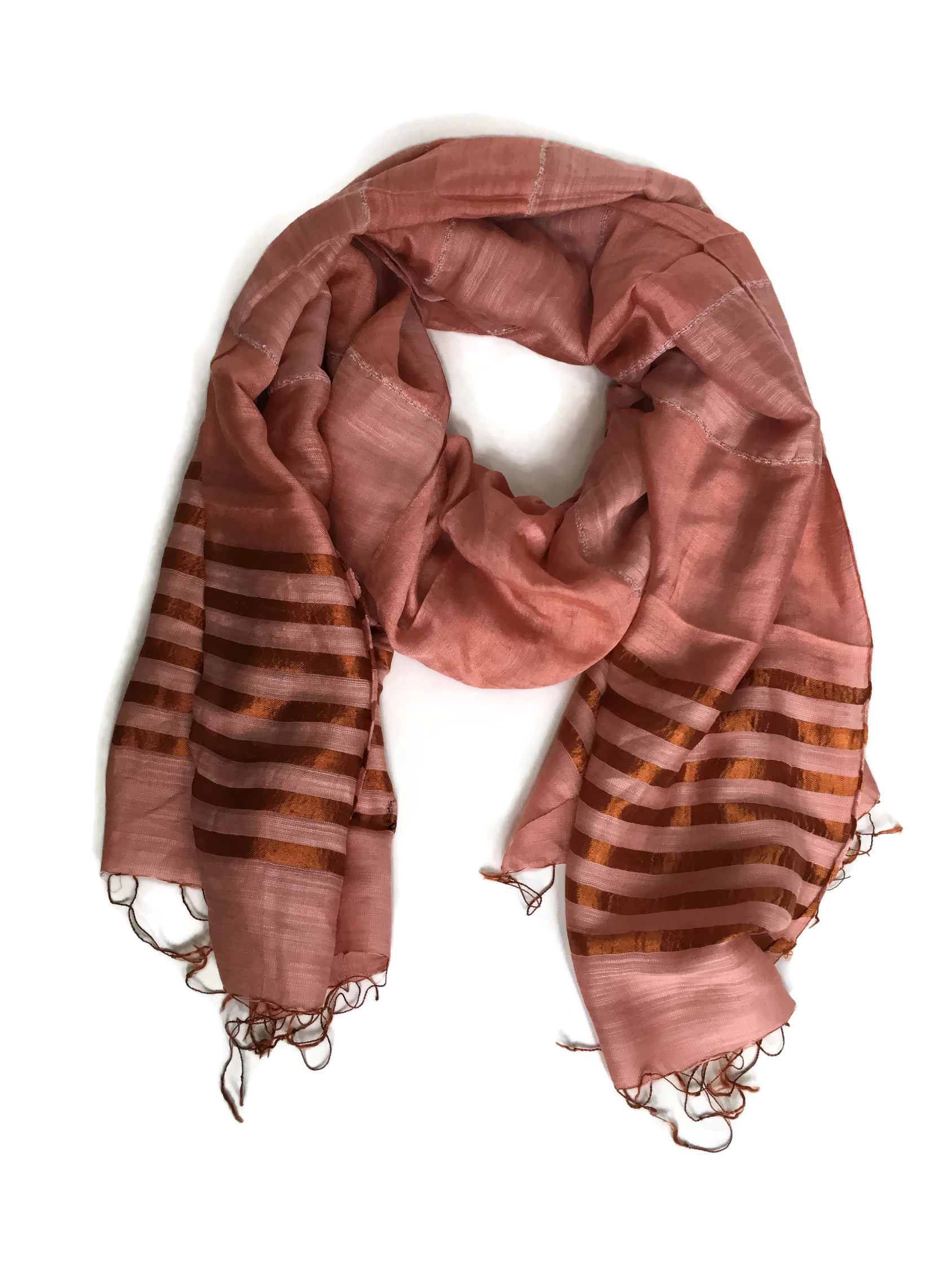 Coral Fair trade scarf | Fair Anita