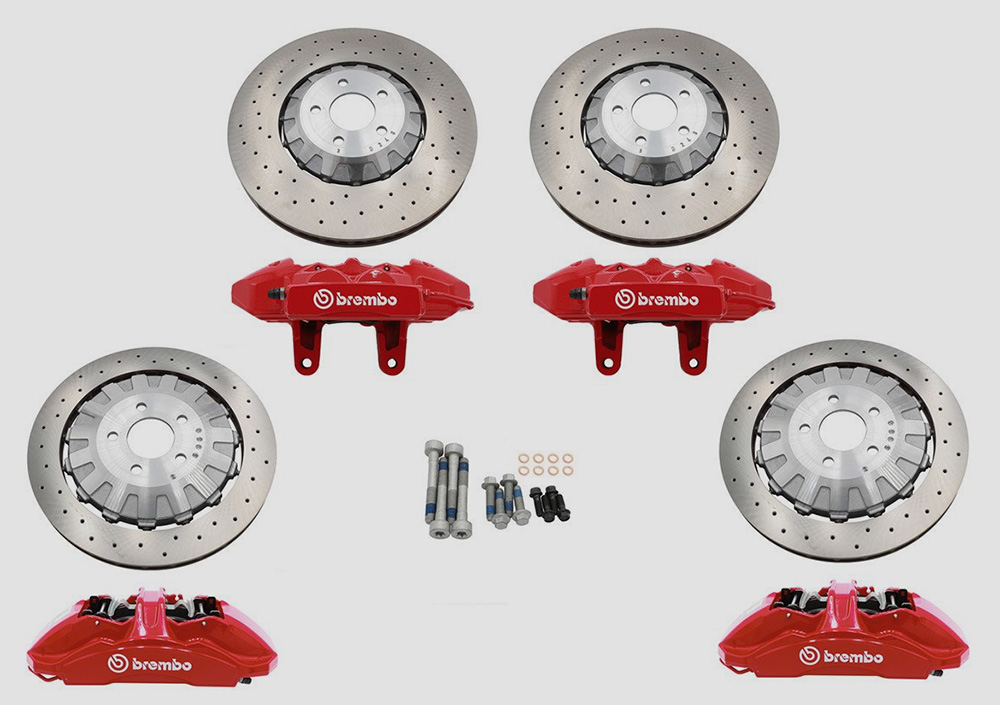 Ford Performance Brembo Brake Packages