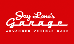 Jay Leno Garage Car Care Logo